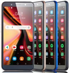 "6.0"" Cheap Factory Unlocked Android 8.1 Cell Smart Phone Qua"