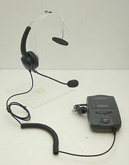 Plantronics A100 Mono Headband Headset System for most Offic