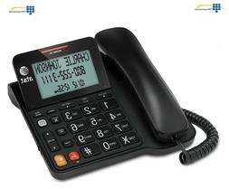 AT&T CL2940 Landline Corded Phone Desk Wall Telephone Lrg Di