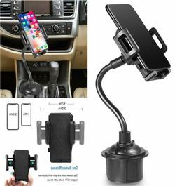 Galaxy Wireless Car Cup Holder Phone Mount With Longer Neck