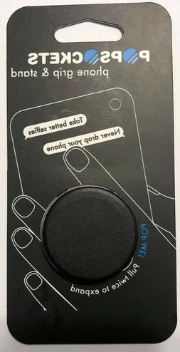 PopSockets Collapsible Grip & Stand for Phones & Tablets Bla