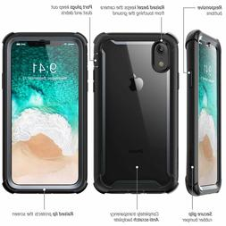 i-Blason Phone Case For iPhone XR, Slim 360 Defense with Scr