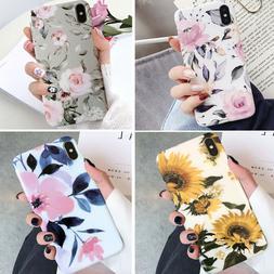 For Iphone 12 Pro Max 11 8 Plus XR Shockproof Flower Cute Gi