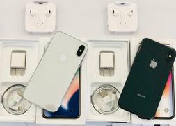 Apple iPhone X 64GB New Silver or Space Gray Unlocked Worldw