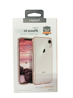 iPhone XR Spigen Slim Armor Crystal Phone Case Color Clear w