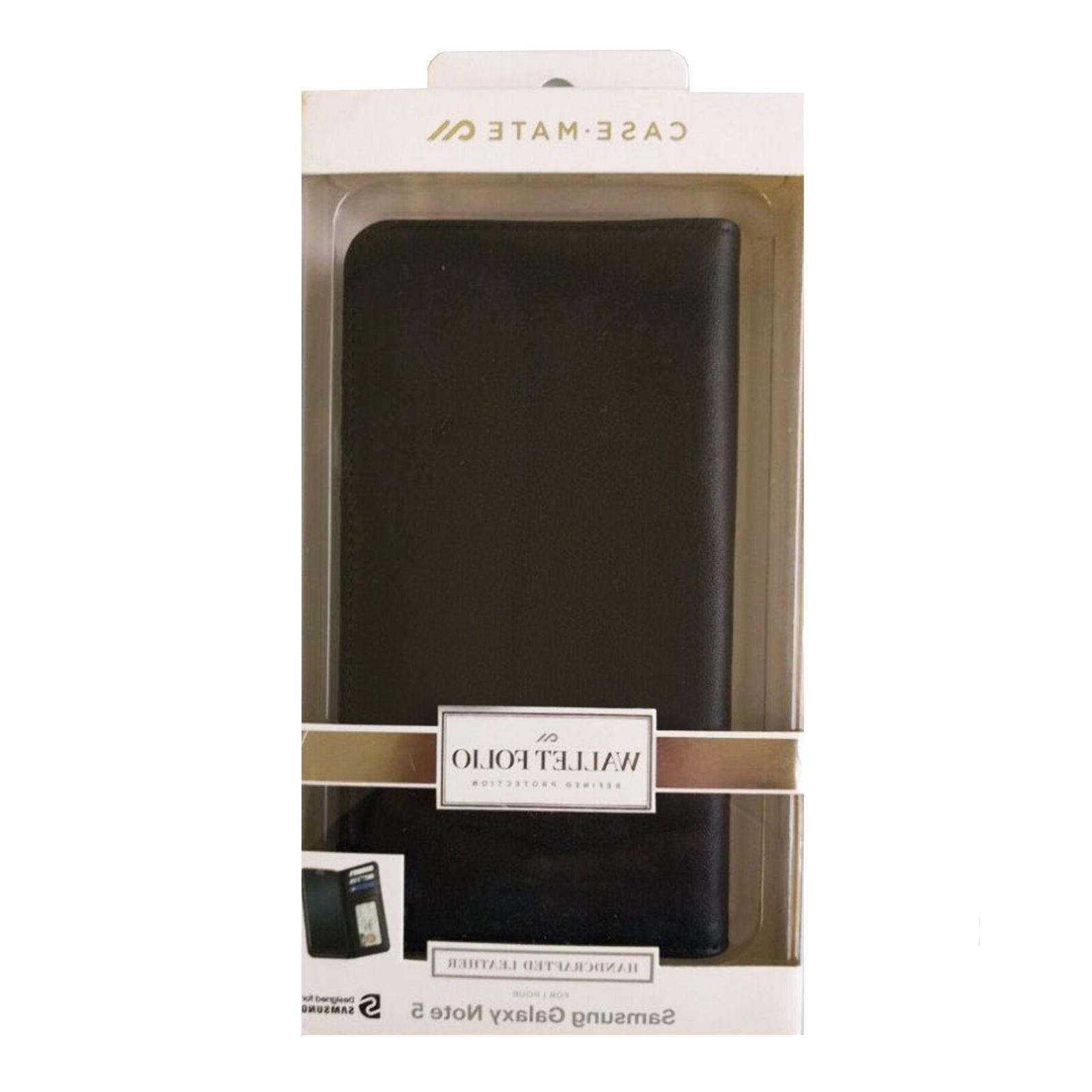 Case-Mate Wallet Folio Card Holder Slots Phone Cover for Sam