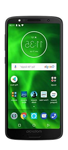 Moto G6 – 32 GB – Unlocked  – Black - Prime Exclusive