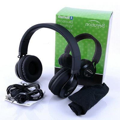 New Bluetooth Headphones for Phone/Laptop/PC/Tablet