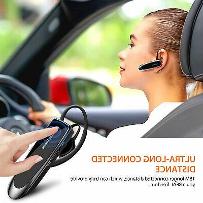 Noise Cancelling Wireless Phone with Trucker Driver
