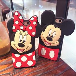 Mickey Minnie Case With Pop Up Holder Phone iPhone 7 8Plus X