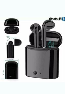 New wireless Bluetooth Ear Buds with Charging Box for all Sm