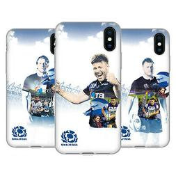 OFFICIAL SCOTLAND RUGBY 2018/19 PLAYERS SOFT GEL CASE FOR AP