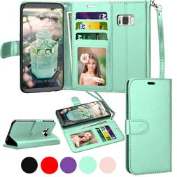 For Samsung Galaxy S9/S7/S8/S10 Plus Leather Wallet Case Fli