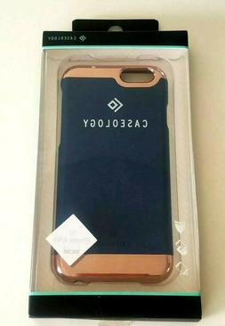 CASEOLOGY SAVOY PHONE CASE FOR APPLE iPhone 6/6s PLUS~NAVY B