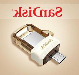 SanDisk Ultra Gold Dual Flash Drive M3.0 USB OTG Android Pho